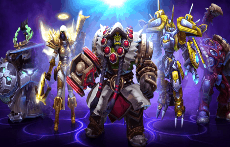 Check out Blizzard playing Heroes of the Storm