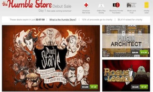 Humble Bundle Launches Humble Store. Deals Ensue