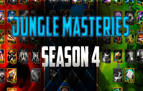 Preview of New Jungle Masteries in LoL Season 4
