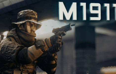 Don't forget to get your scoped m1911 for Battlefield 4 today 12/05
