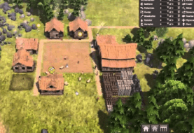 One hour of Banished gameplay