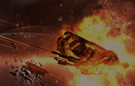 Eve Online hosts largest online space battle due to missed rent payment