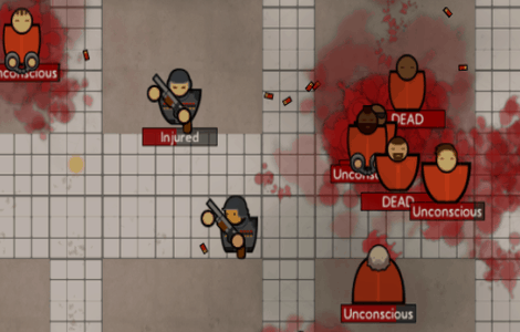 Prison Architect Alpha 17 adds armed guards
