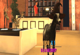 Goat Simulator 1.1 patch adding local splitscreen multiplayer and new map