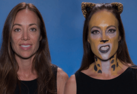 DC Universe Online Player-Inspired Leopard Hero Halloween Make-up Tutorial Video