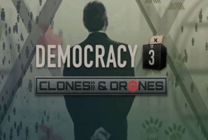 Democracy 3: Clones and Drones DLC Review